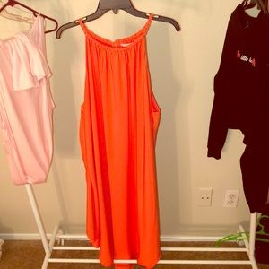 Rachel Brand coral dress size 3X worn once